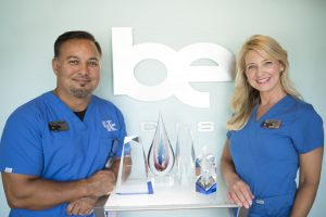 Doctor Hester and Chasity Hester owners of Be Medispa